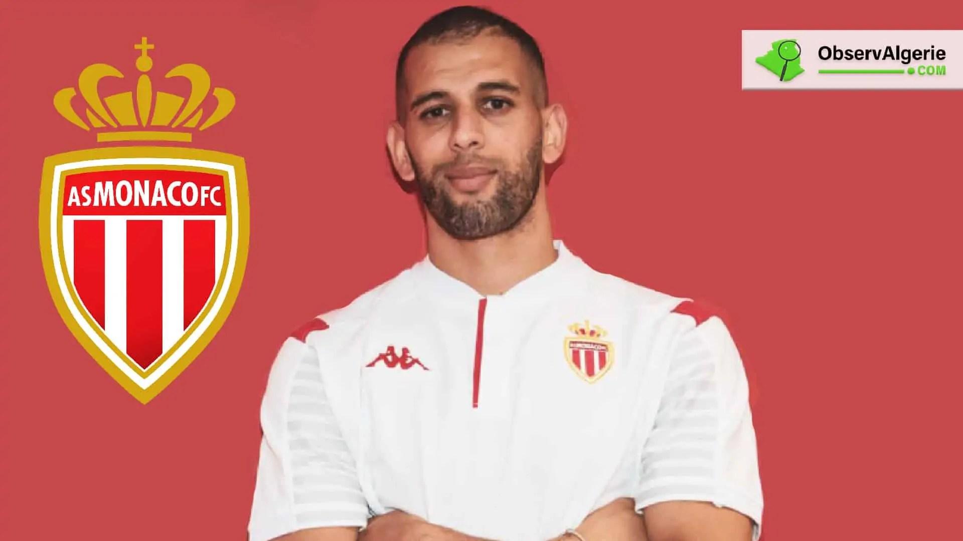 Islam Slimani marque un nouveau but et offre la victoire à l'AS Monaco (Vidéo)