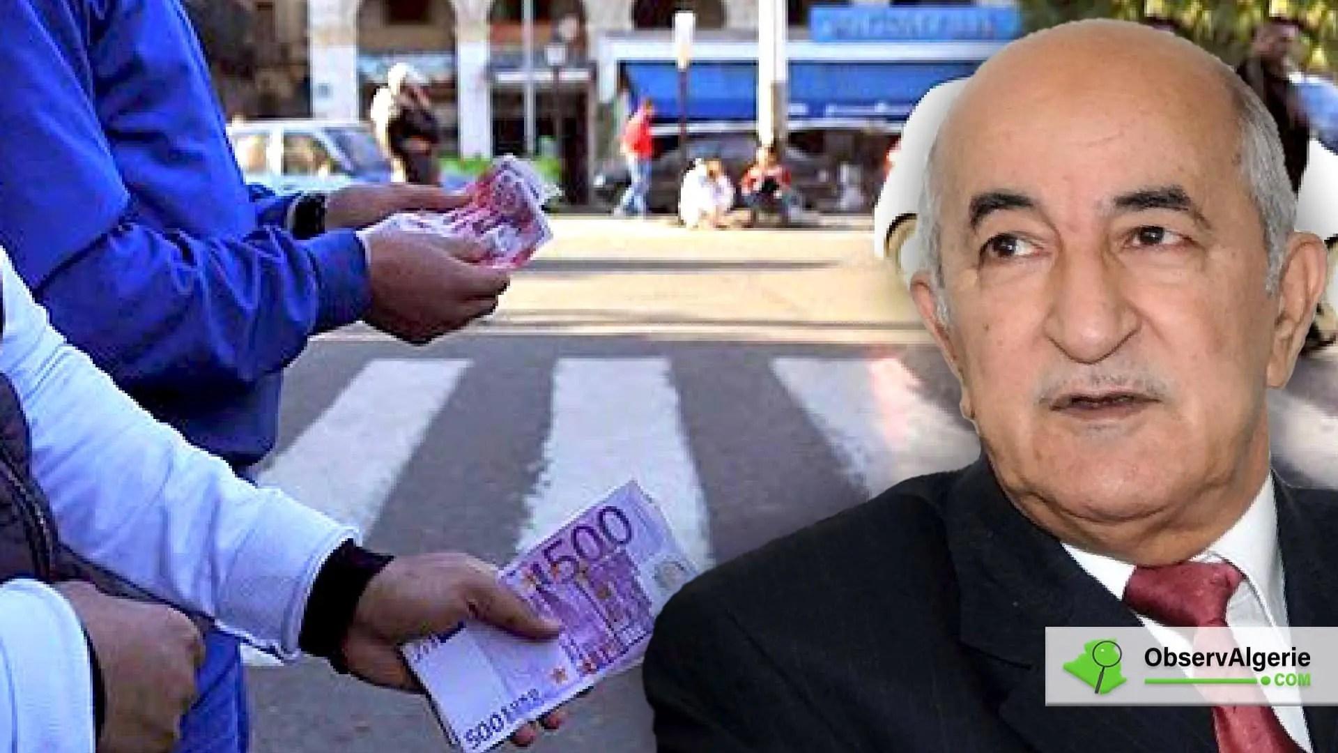 Algérie : Abdelmadjid Tebboune s'exprime sur les marchés noir de la devise