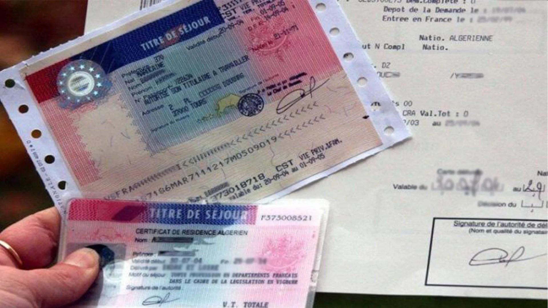 carte de sejour france 10 ans Récépissé de demande de titre de séjour en France : Ce qu'il faut