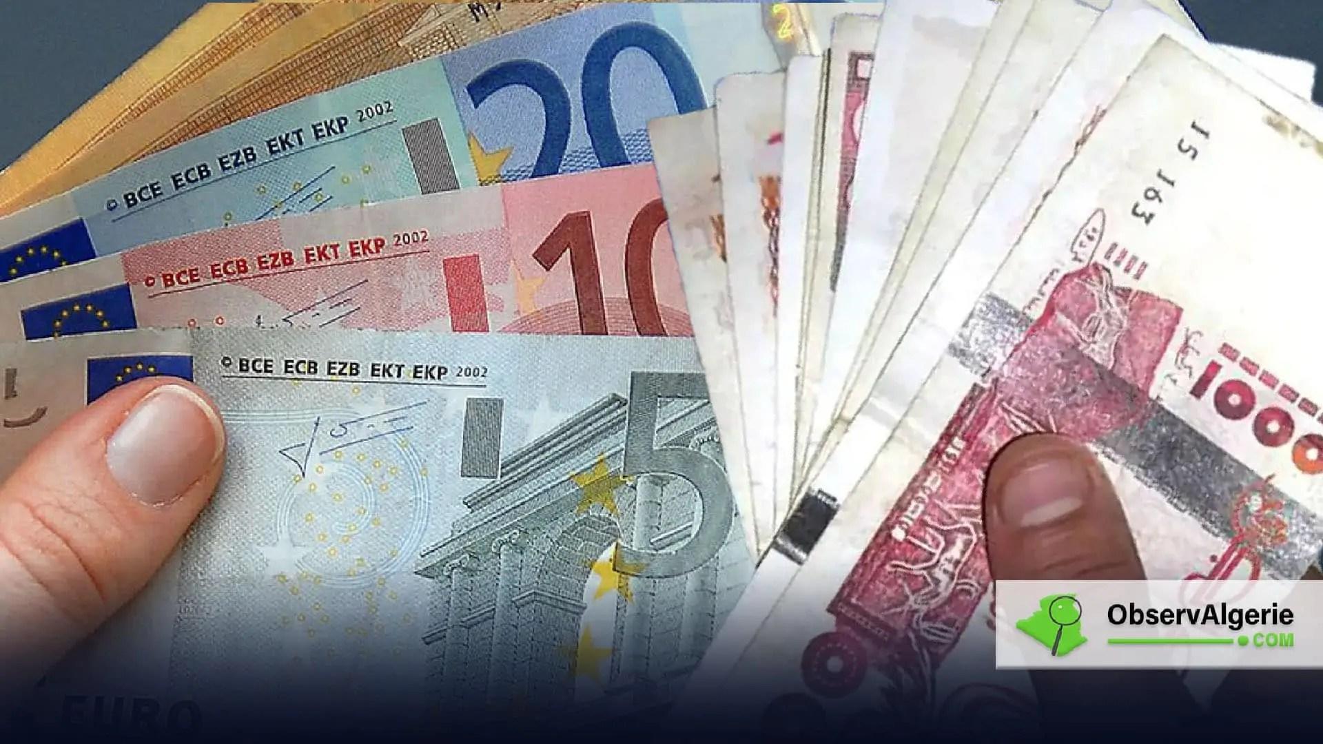 Marche Noir De Devises En Algerie La Valeur De L Euro Se Stabilise