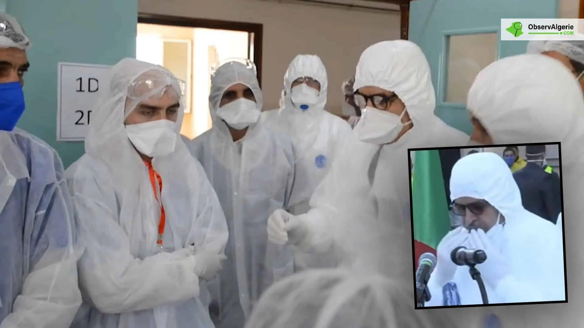 Algérie : Les maladresses de Abdelaziz Djerad à Blida enflamment la toile