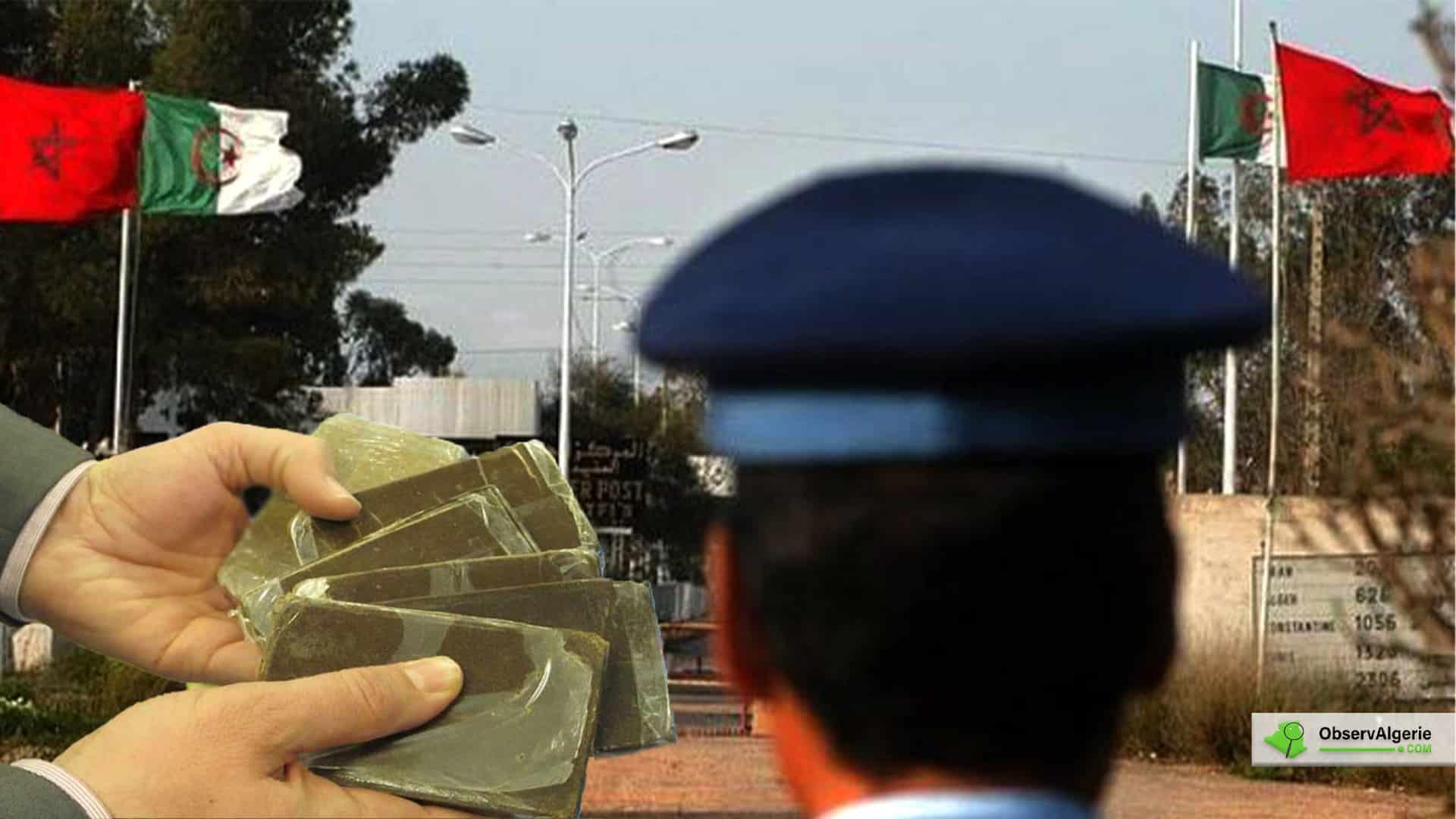 Algérie : 16 tonnes de kif traité et 18 kilos de cocaïne parvenus du Maroc