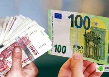 Taux De Change De L Euro Face Au Dinar Algerien Sur Le Marche Noir 18 01 2021