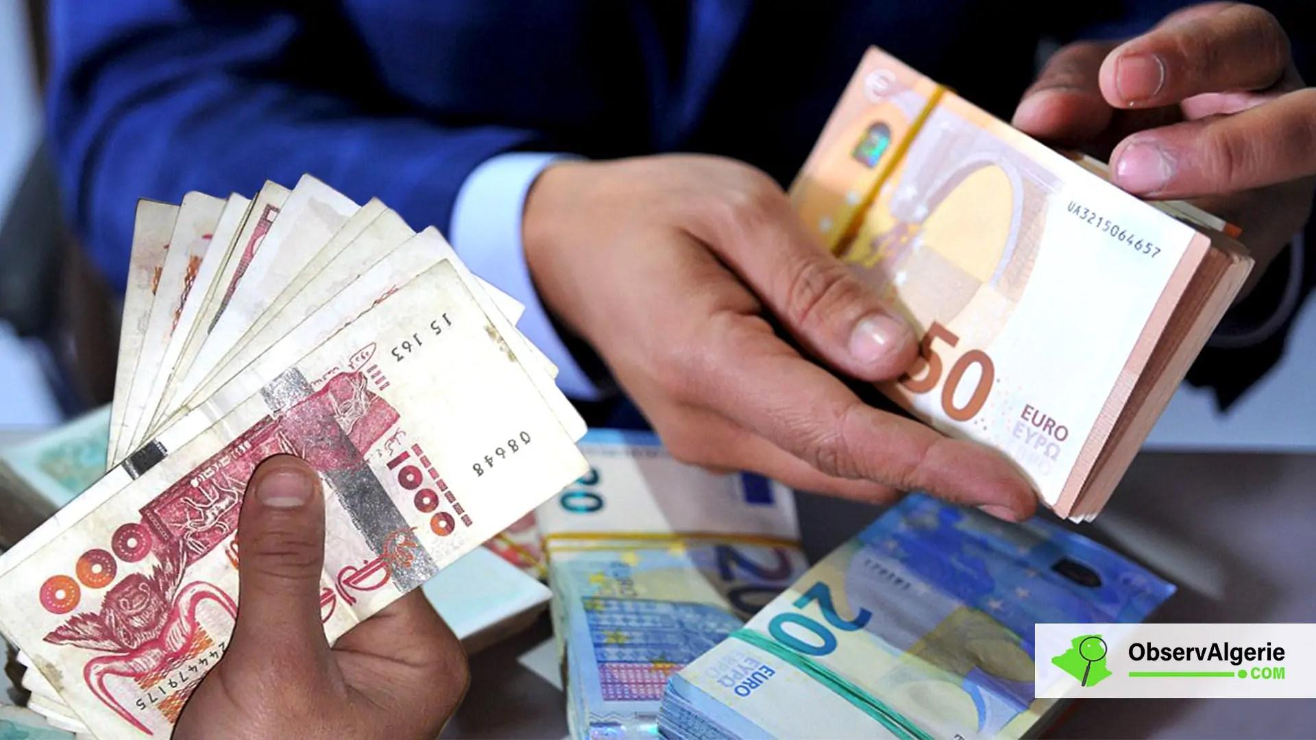 Taux De Change De L Euro Face Au Dinar Algerien Sur Le Marche Noir 29 10 2020