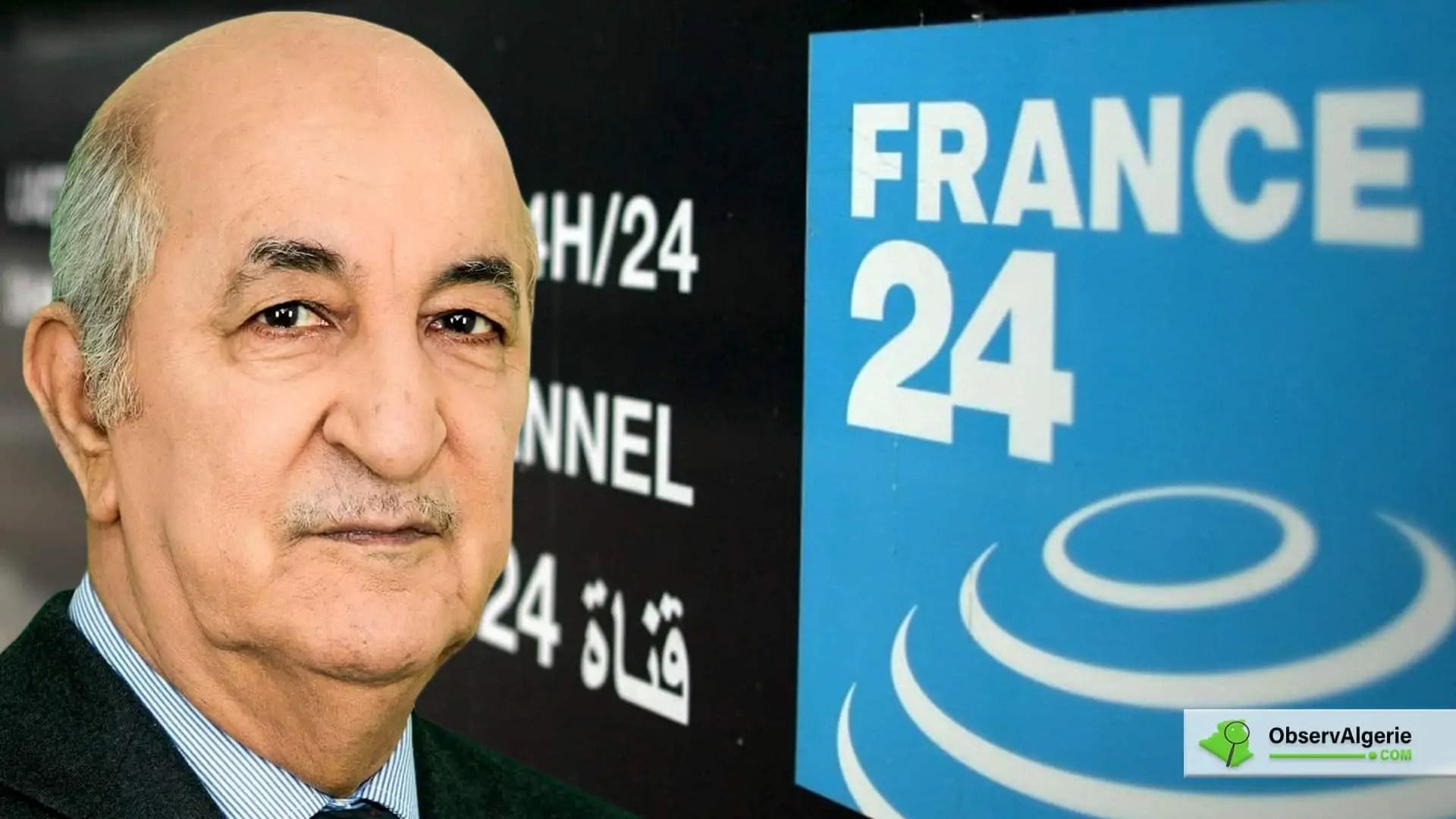 Algérie : Les grandes annonces de Abdelmadjid Tebboune sur France 24