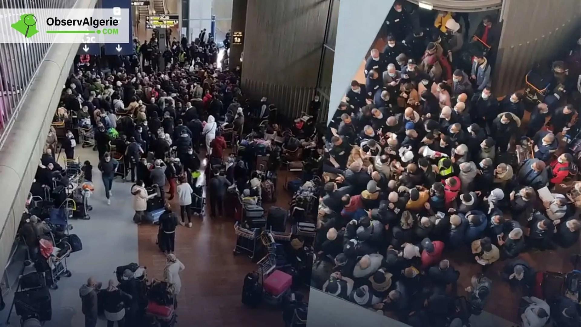 France : Grosse pagaille pour les derniers vols de rapatriement d'Air Algérie