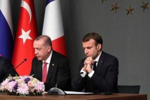 Emmanuel Macron cède et propose une trêve à Recep Erdogan
