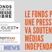 Le Fonds pour une Presse Libre (FPL) va soutenir trois médias indépendants
