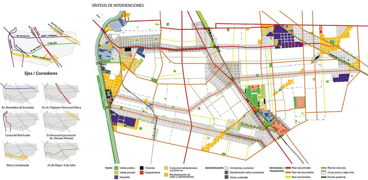 Resultado de imagen de planificacion urbana montechingolo lanus