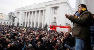 Mihail Saakaşvili   foto Vladimir Shtanko / Anadolu Agency