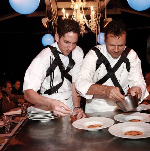 © Rina Nurra - Restaurant éphémère avec Patrick Bertron