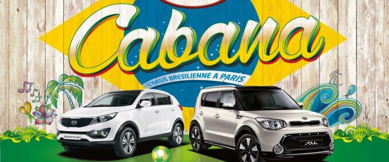« Evasion Brésilienne avec KIA CABANA ! »