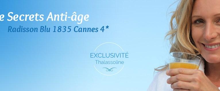 Thalassoline Cure Thalasso Anti-Âge inédite à Cannes