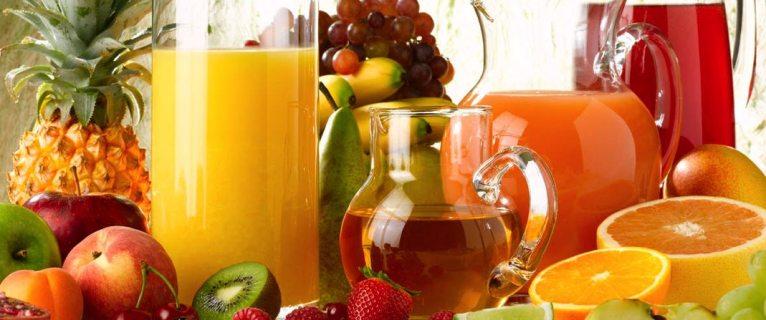 Les jus de fruits au menu du « petit‐déjeuner »