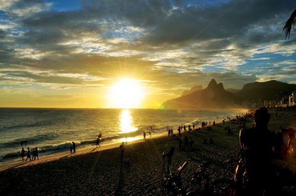 Rio Arpoador - Por do Sol [Alexandre Macieira]