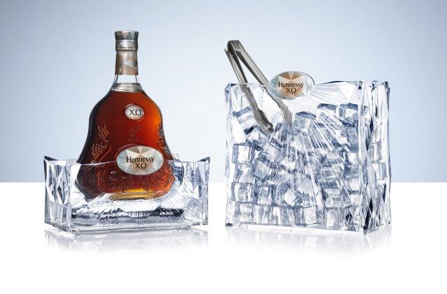 Coffret givré Hennessy X.O
