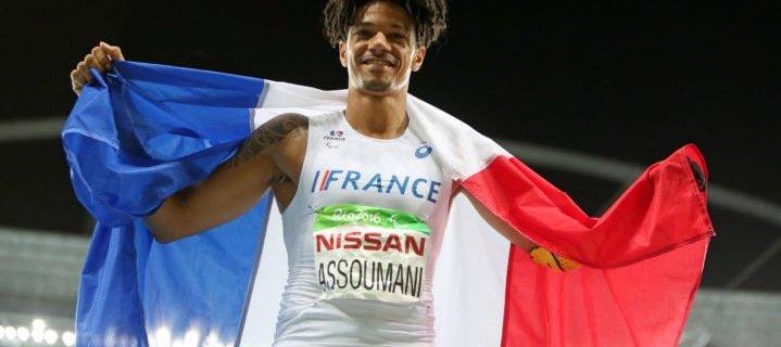«Dessine la prothèse du champion Paralympique Arnaud Assoumani»