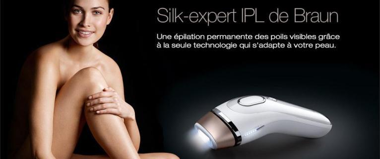 Coup de Coeur ! Braun : Silk-Expert.
