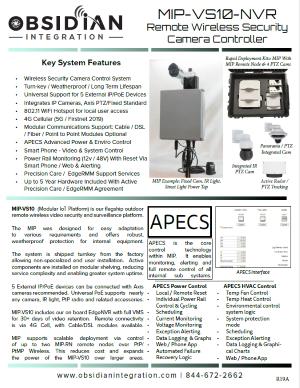 MIP VS10 Wireless Camera Controller