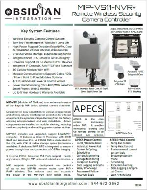 MIP VS11 Wireless Camera Controller