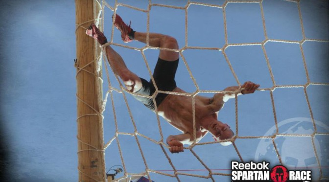 Brakken Kraker net climb