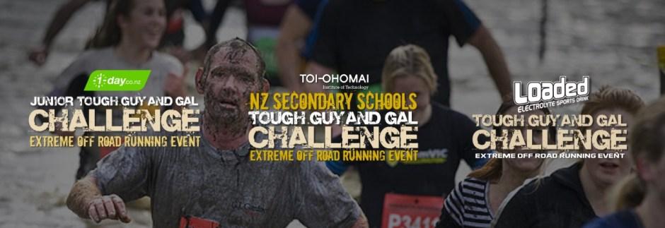 Tough guy gal banner
