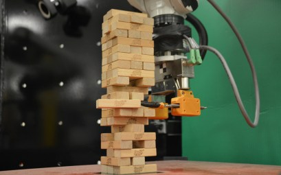 Robot du MIT avec IA pour jouer à Jenga
