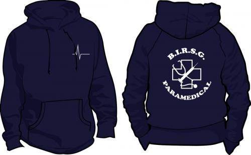 Student first year nurses' hoodies (logo back and front)