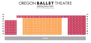 BodyVox Dance Center Seating Chart Portland Oregon