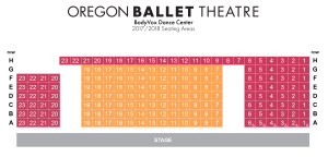 BodyVox Dance Center Seating Chart Portland Oregon