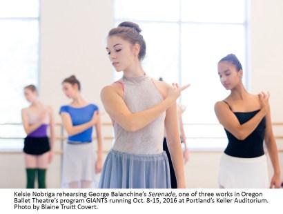 ORegon Ballet Theatre presenitng GIANTS