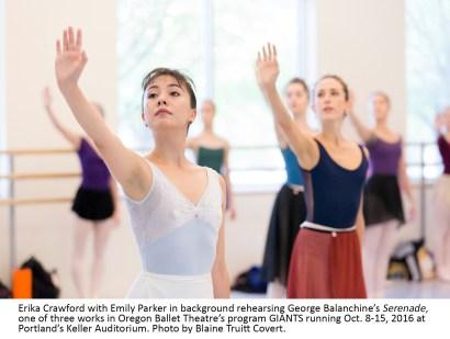 Oregon Ballet Theatre presents Giants