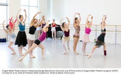 Oregon Ballet Theatre's program GIANTS running Oct. 8-15, 201