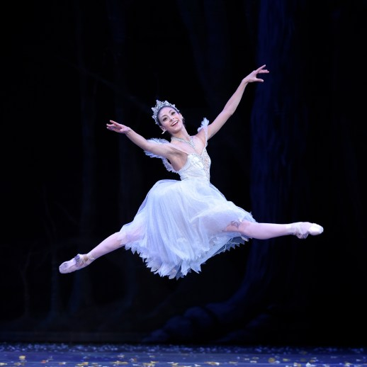 Martina Chavez (as the Fairy Godmother) in the company premiere of Ben Stevenson's Cinderella, running February 28 - March 7, 2015, at Portland's Keller Auditorium. Photo by Yi Yin.