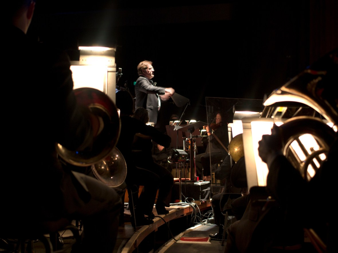 All 2018 performances of Napoli feature principal percussionist Niel DePonte and the OBT Orchestra. Photo by James McGrew.
