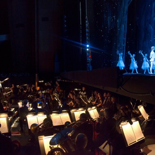 Twelve Nutcracker performances feature the OBT Orchestra, an experience like no other. Photo by James McGrew.