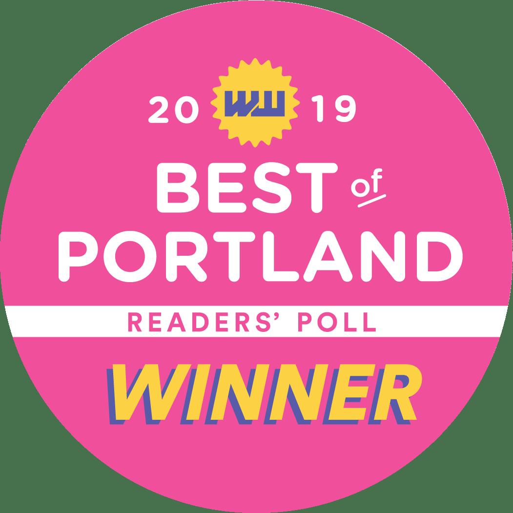 Willamette Week Best of Portland Winner Logo