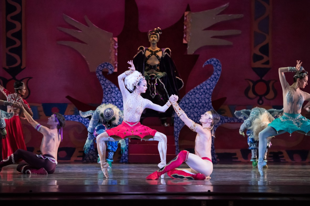 Xuan Cheng and Peter Franc | Scheherazade | OBT ROAR(S) | photo by Jingzi Zhao
