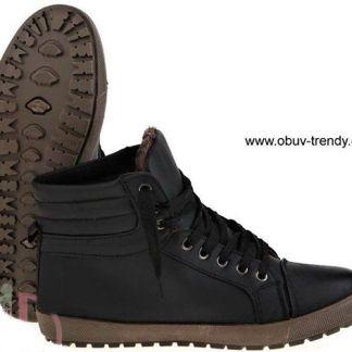 pánské zimní boty šněrovací