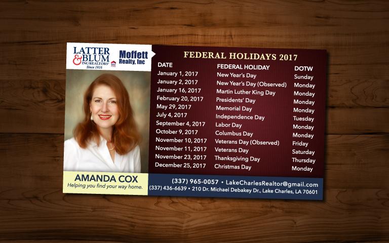 Amanda Cox Realty Magnet