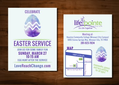 Life Pointe Church Special Service Announcements