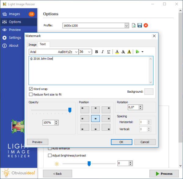 Light Image Resizer, Resize Pictures, Convert Images