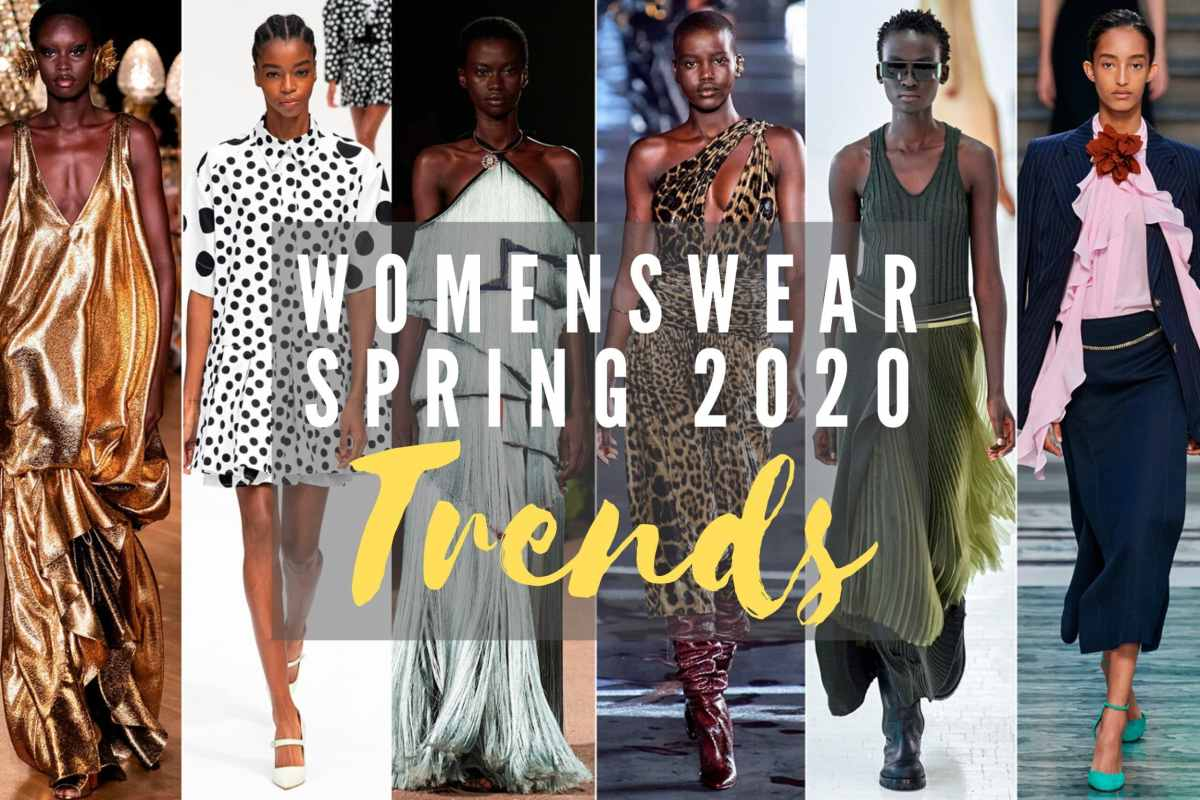 Womenswear Spring/Summer 2020 Trends