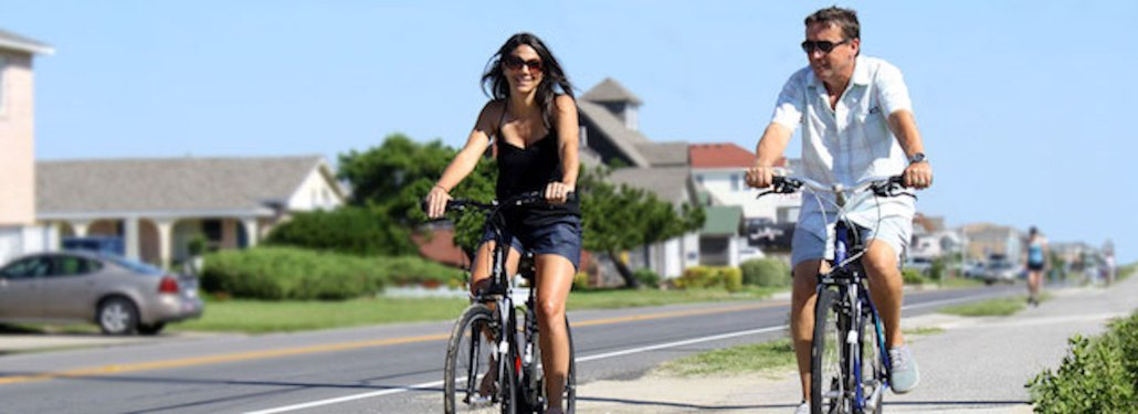 2 People on Bicycle