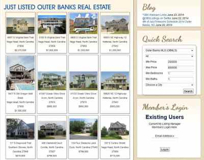 Just Listed OBX MLS Properties