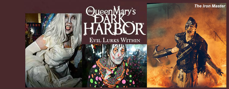 Queen Mary's Dark Harbor unveils the spirit of Iron Master