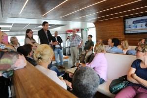 Op de boot met Riveer