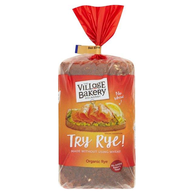 The Village Bakery Organic Rossisky Rye Bread 800g from Ocado