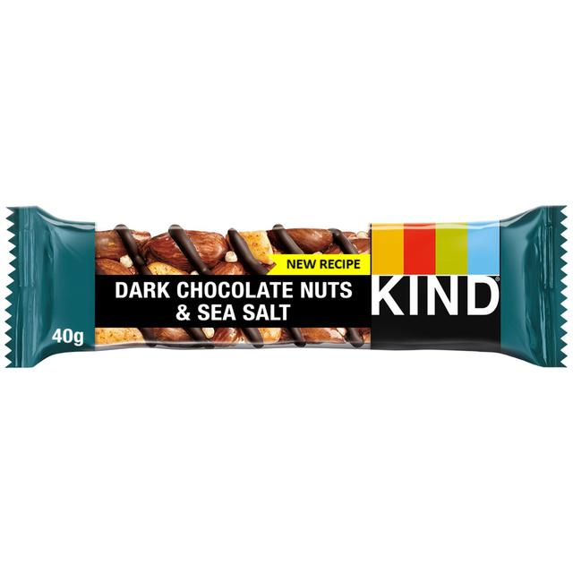 Kind Bars Dark Choc Nuts Sea Salt Bar 40g from Ocado