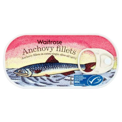 Waitrose Anchovy Fillets